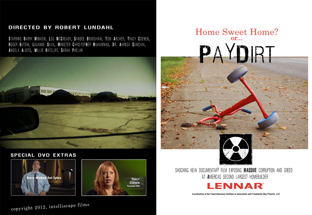 PayDirt DVD Cover