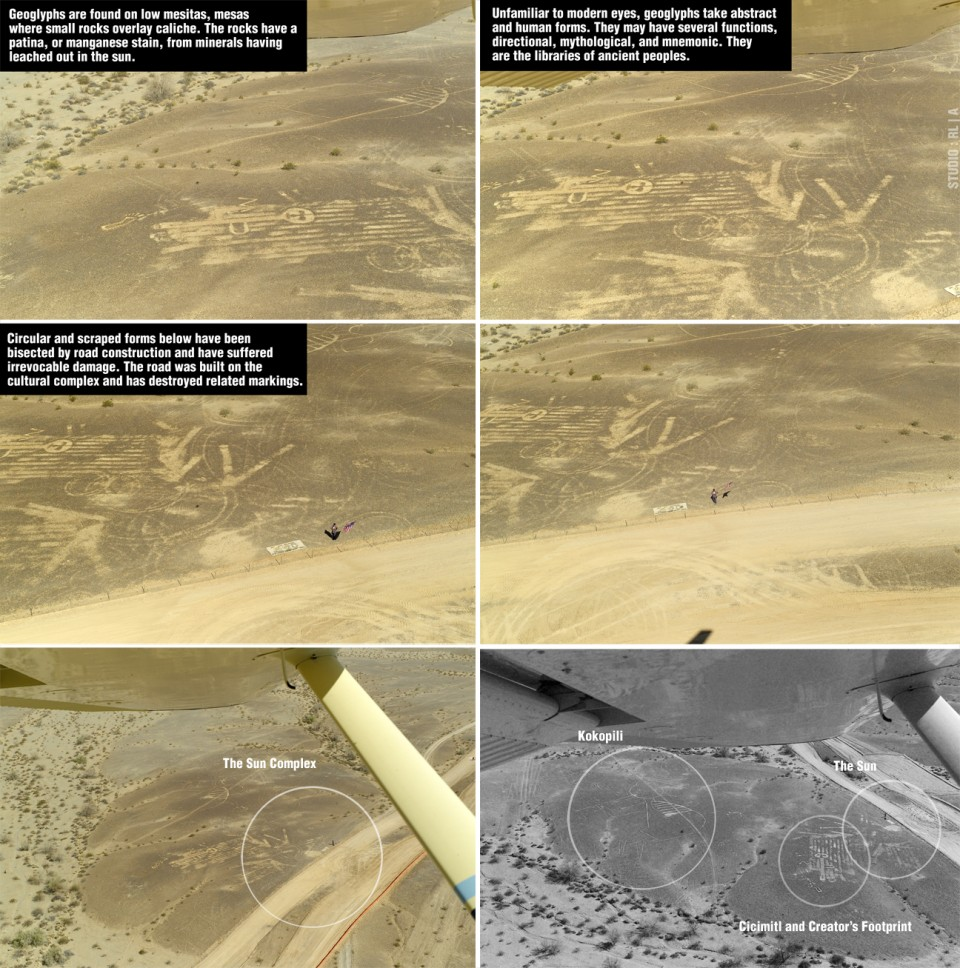 destruction of geoglyphs