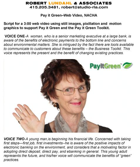 Microsoft Word - Pay it Green_script3.doc